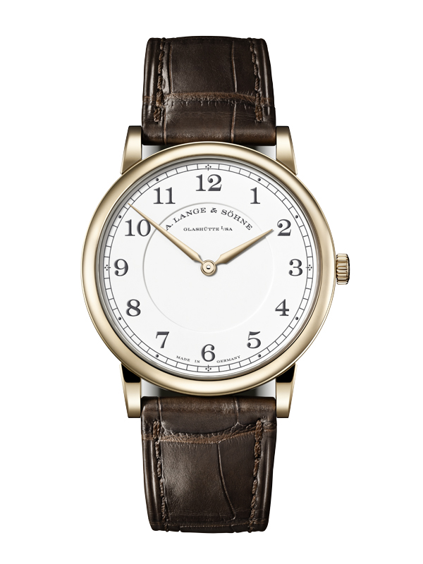 """1815 Thin Honeygold """"Homage to F.A. Lange"""""""
